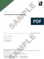 Aircraft Maintenance Engineer's Logbook