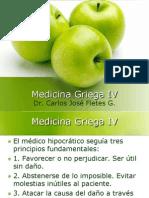 Medicina Griega IV