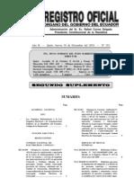 Ley Reformatoria a la Ley Orgánica Electoral y de Organizaciones Políticas de la República del Ecuador