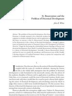 Bonaventure problems on doctrinal development