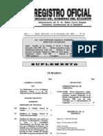 Ley Reformatoria a la Ley de Régimen Tributario Interno y a la Ley Reformatoria para la Equidad Tributaria del Ecuador