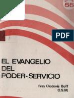 Boff Clodovis El Evangelio Del Poder Servicio