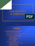 ELECCIONES DE   ALTERNATIVAS