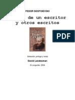 Dostoyevskii, Fiodor M. - Diario de Un Escritor y Otros Escritos