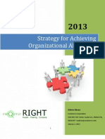 Strategy for Achieving Organizational Alignment