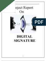 Project Report(Digital Signatures)