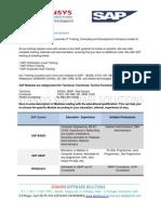 Mailing Content SAP
