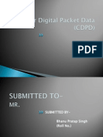Cellular digital packet data(CDPD)