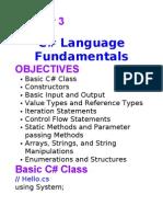3# Language