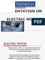 presentation of electric motor