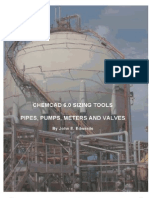 Chemcad Pipe Network