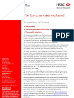 The Eurozone Crisis Explained