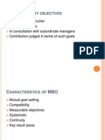 Management by Objectives 333