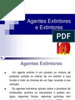 Agentes Extintores e Extintores