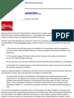 Adam Smith Institute - In Praise of Consumerism - 2012-07-25