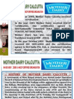 Presentation on Mother Dairy and Biecco Lawrie