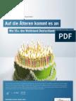 Auf die Älteren kommt es an - Wie 55+ den Wohlstand Deutschlands sichern kann