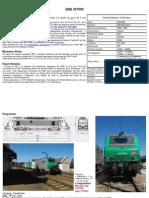 Modélisme ferroviaire à l'échelle HO. Fiche compos BB27000 par Laurent Arqué. Janvier 2012