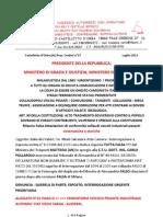 Lettera a Napolitano e Perizia Del Ctu - Carlo Massone