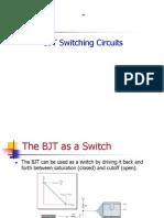 BJT switching circuits