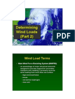wind load calculation