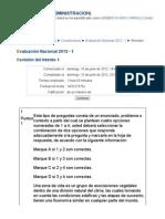 102706_ Evaluación Nacional 2012 -  AGROECOLOGIA