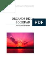 ÓRGANOS DE LAS SOCIEDADES