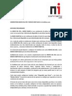 Configuracion Menus Diarios en ConMenu.com