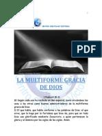 La multiforme gracia de Dios