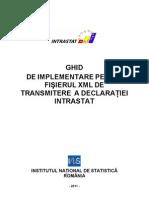 Ghid Implementare XML Intrastat 2011