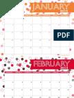 Anders Ruff 2013 Free Printable Monthly Calendar