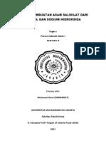 Proses Pembuatan Asam Salisilat Dari Phenol Dan Sodium Hidroksida. Doc 1