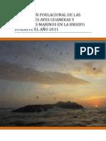 Poblaciones de Aves Guaneras 2011