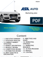 ASA Presentation of Marketing Plan