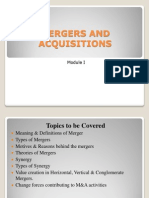 merger and acquistation