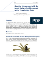 Optimization, visualization and Decision Making in Management