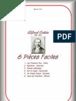 Alfred Cottin 6 Pieces Faciles (1)