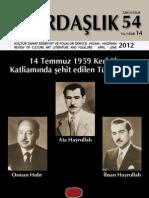 Türkiye ve Türkmenler , Kardaşlık Dergisi 54