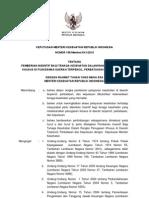 KMK No. 156 ttg Pemberian Insentif Bagi Tenaga Kesehatan.pdf