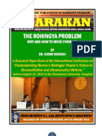 The Rohingya Problem - Why and How to Move Forward