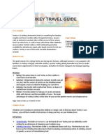 Hotels4U Turkey Travel Guide