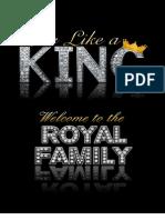 Printable Leaders Manual - Live Like a King
