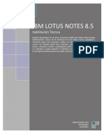 Guia de usuario de Lotus Notes 8.5