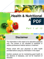Healthy Nutrition Facts 01