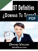 TEST DE GESTION DEL TIEMPO