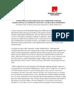 WHO-ADI Report on Dementia