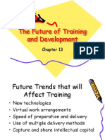 Ch 13 the Future of Training and Develop