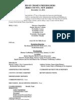 FH Workshop Meeting Minutes - 2012-12-12