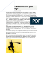 EJERCICIOS TRADICIONALES PARA BASTON KUNG FU