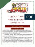 January 2013 RS Newsletter